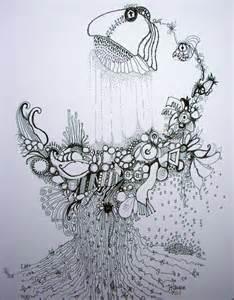 Pen and Ink Drawings Graffiti