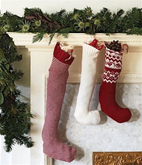 turn   sweaters  pretty christmas stockings