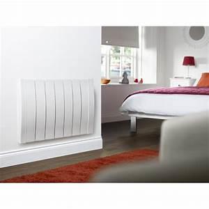 Radiateur électrique à Inertie Sèche : radiateur lectrique inertie s che horizontal 450w ~ Edinachiropracticcenter.com Idées de Décoration