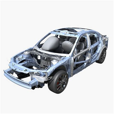 Car Frame by 3d Car Frame 02 Cgtrader