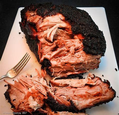 boston rub smoked pork butt