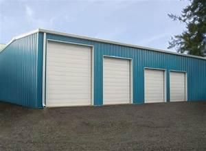 Metal garages 18 steel garage kits for sale general steel for 30x50 shop cost