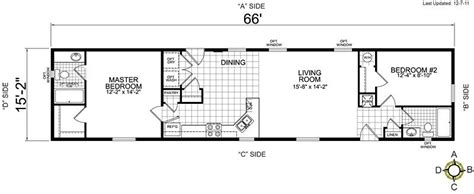 27076 two bedroom mobile homes lovely single wide mobile home floor plans 2 bedroom new