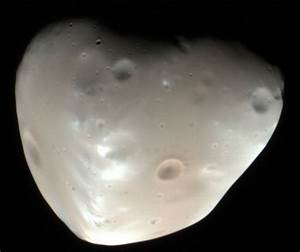 The Satellites (Moons) of Mars, Phobos and Deimos