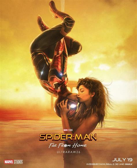 spider man   home fan poster includes  nod  infinity war
