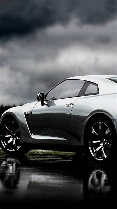 Nissan Iphone Gt Silver Android Wallpapers Left