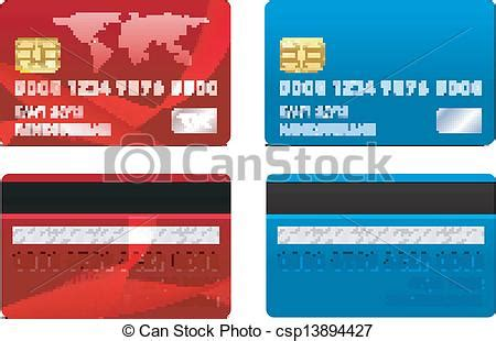 You can now generate your own valid credit card numbers with cvv, country origin, issuing network (such as visa, master card, discover, american express and jcb), account limit, and expiry date. Vector Credit Card Template - Royalty Free EPS Vector - csp13894427