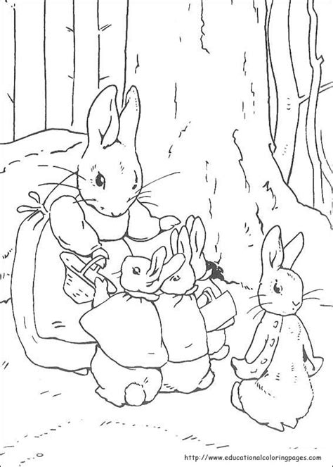 peter rabbit coloring pages educational fun kids coloring pages  preschool skills worksheets