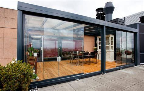veranda per terrazzo chiudere veranda piano terra chiudere terrazza con vetro