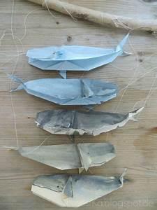 Mobile Basteln Origami : origami wal mobile mehr basteln ~ Orissabook.com Haus und Dekorationen