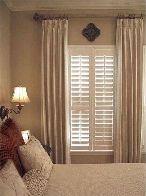 stationary drapery panels  decorative rod