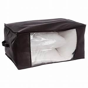 Housse De Rangement : housse de rangement couverture coussin 60cm noir ~ Louise-bijoux.com Idées de Décoration