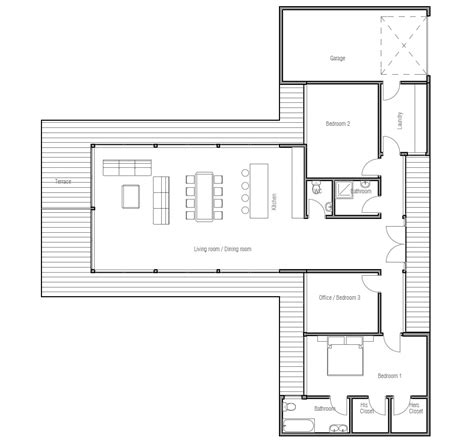 contemporary one house plans house plans and design economical modern house plans