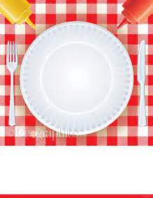 Free Cookout Borders Clip Art