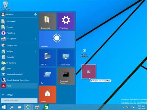 Create Desktop Shortcuts For Modern Apps In Windows 10