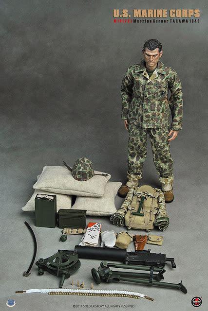toyhaven soldier story usmc ma machine gunner tarawa