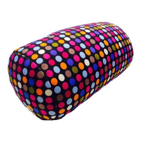 microbead pillow walmart microbead cushie roll pillow small dot pattern walmart