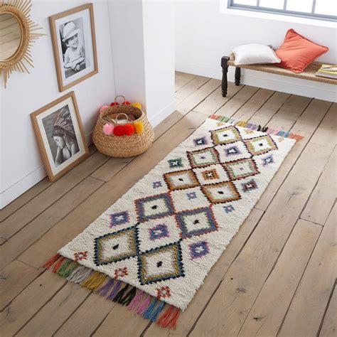 La Redoute Tapis Enfant Tapis De Couloir Style Berb 232 Re Ourika Multicolore La Redoute Interieurs La Redoute
