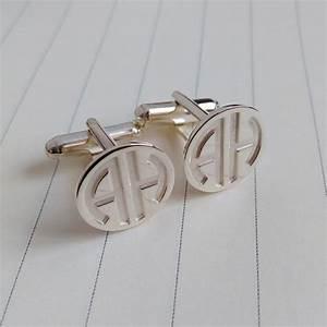 personalized cufflinkswedding cufflinkstwo letter With custom letter cufflinks