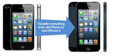 transfer info from iphone to iphone how to transfer data from your iphone to iphone 5