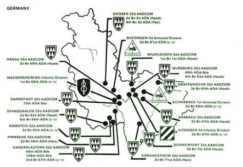 USAREUR Org Charts - ADA 1984
