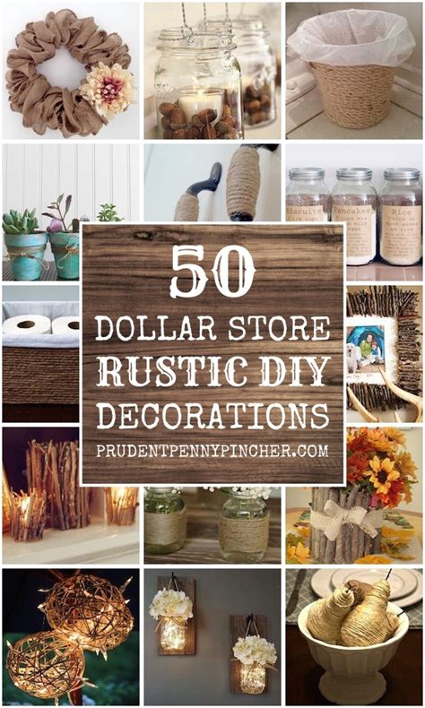 dollar store rustic home decor ideas prudent penny