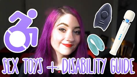 Sex Toys And Disability Guide Youtube