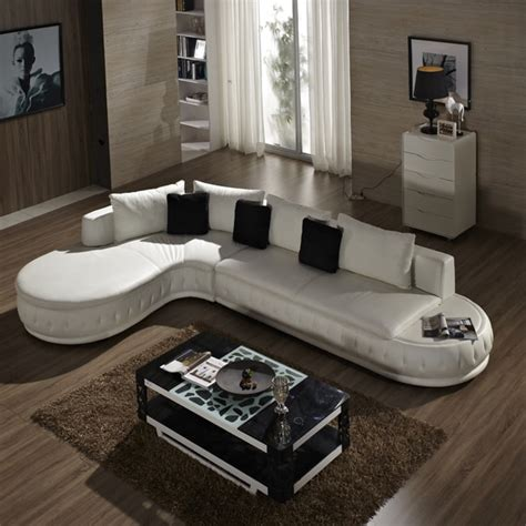 White Living Room Leather Furniture by Lounge 2 Seat Ottoma Lot White Genuine Leather Small