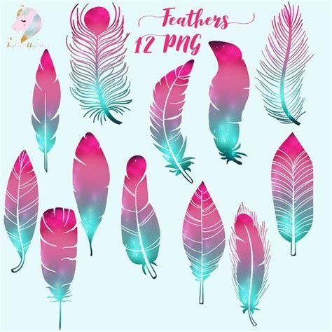 galaxy feathers feather clipart cosmic feathers feathers