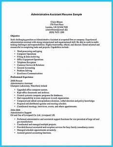 Sample to make administrative assistant resume for Administrative assistant objective