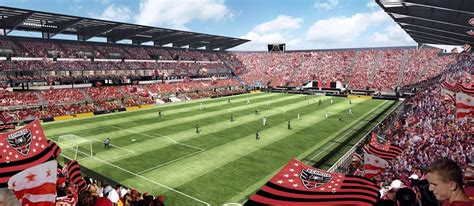 soccer specific stadiums key to mls past and future soccer stadium digest
