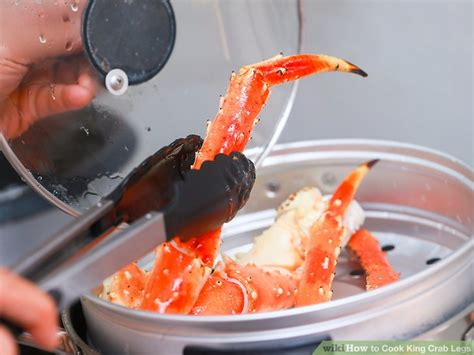boil king crab legs 4 ways to cook king crab legs wikihow