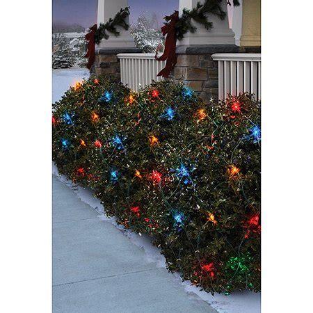 christmas lights at walmart time 70 count led net lights mutli