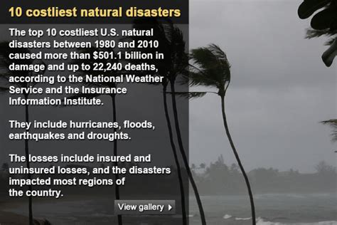 top  costliest natural disasters bankratecom