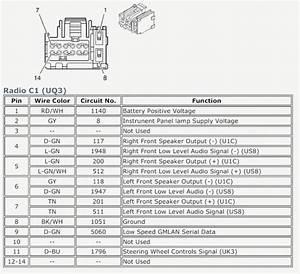 2007 Chevy Silverado Radio Wiring Harness Diagram