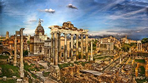 foto de Forum Romanum Italy Architecture Rome Ruins Hd Wallpaper