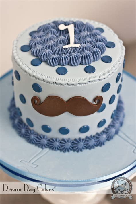Mustache, Tie Birthday Cake Gainesville  Dream Day Cakes