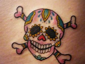 Mexican Skull And Cross Bones Tattoo Designs: Real Photo ...