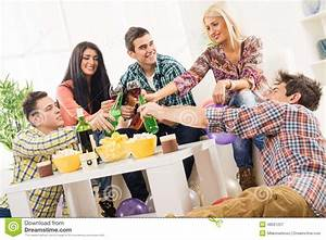 Cheers Friends Stock Photo - Image: 48591257
