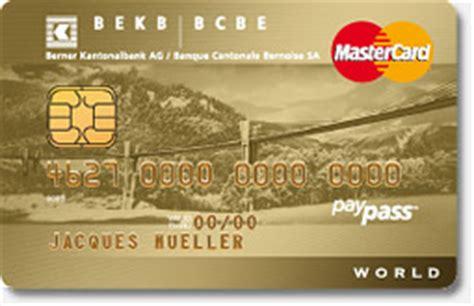 bekb world mastercard gold moneylandch
