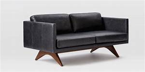Brooklyn leather sofa west elm review sofa ideas for West elm sectional sofa leather