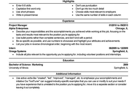best technical writer resume