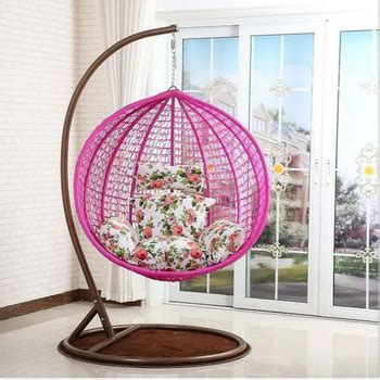 living room indoor  outdoor adult jhoola swing rattan