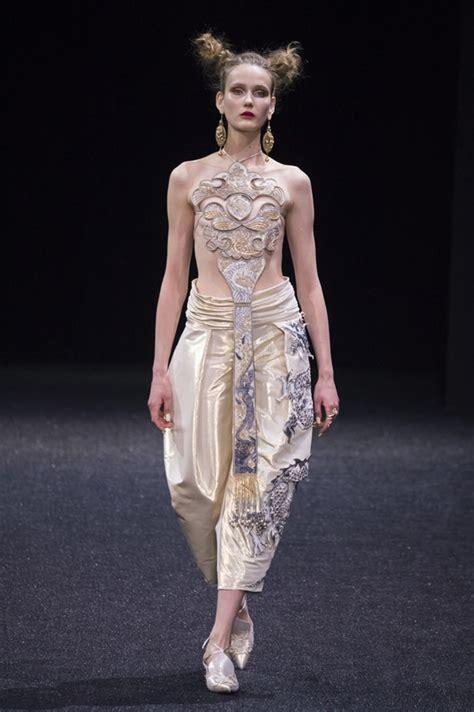 paris fashion week guo pei spring  couture collection