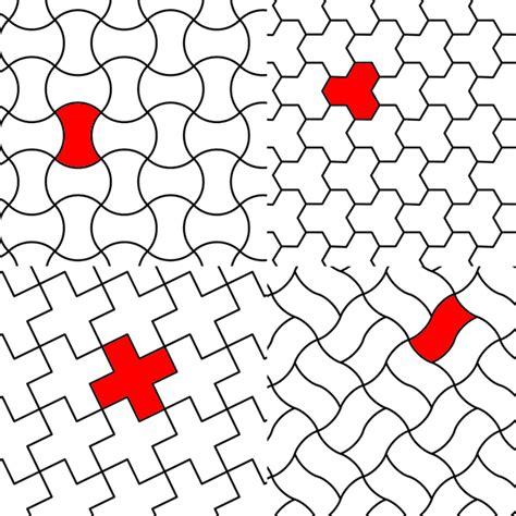 tessellation templates recreational kitchen mathematics cookie tessellations 187 khymos