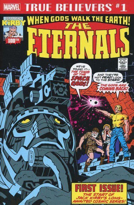 True Believers: Jack Kirby 100th - Eternals 1 (Marvel ...