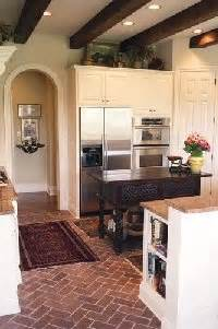 how to renovate kitchen cabinets best 25 brick floor kitchen ideas on brick 7340