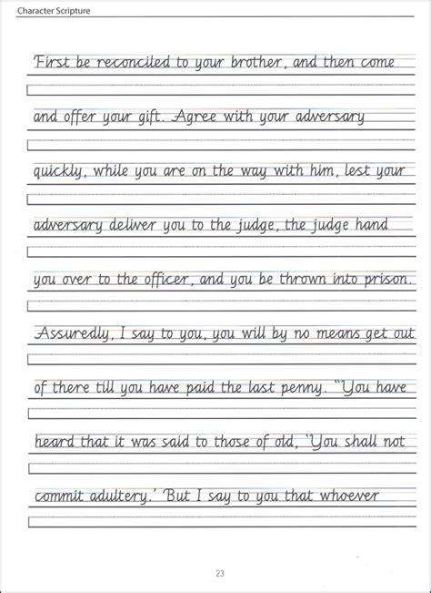 Free Printable Handwriting Worksheets 4th Grade Homeshealthinfo