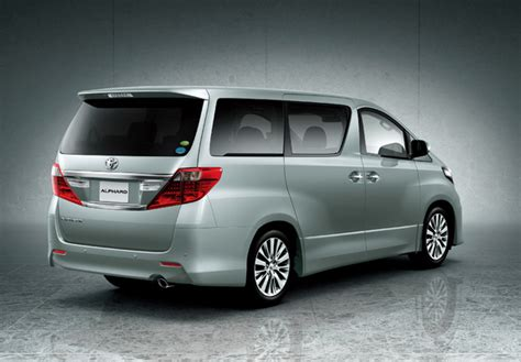 Toyota Alphard Wallpapers by Toyota Alphard 240s Anh20w 2011 Wallpapers