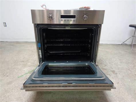 ge monogram    cu ft glide racks single electric wall oven zetsmss ebay